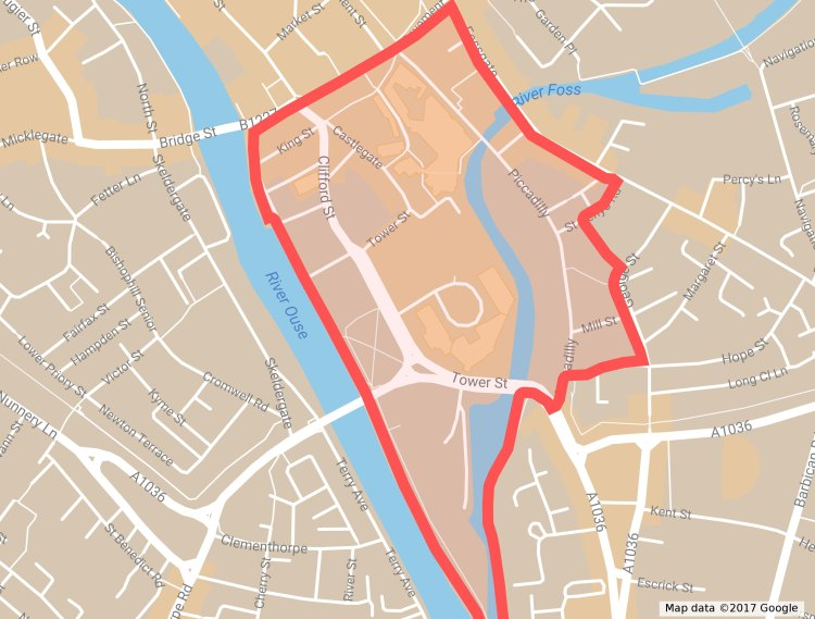 Castle Gateway Area